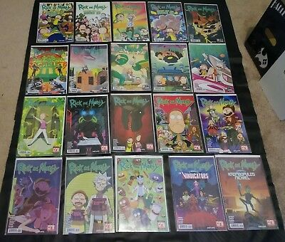 Rick and Morty Comic Issues #2 -5 Pocket Like U Stole it and more