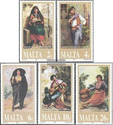 Malta 1162-1166 (complete issue) unmounted mint / never hinged 2001 Dingli