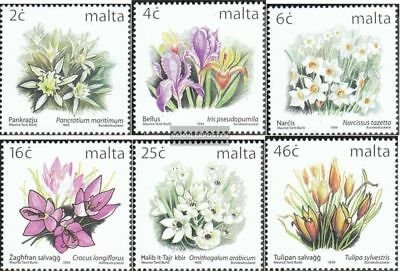 Malta 1099I A-1104I A (complete issue) unmounted mint / never hinged 1999 Flora