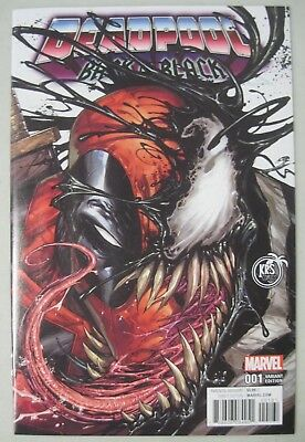 Deadpool Back In Black #1 Krs Tyler Kirkham Venom Variant Edition Marvel Comics