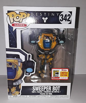 Funko Pop Games Destiny Sweeper Bot #342 2018 SDCC Exclusive Comic Con MINT