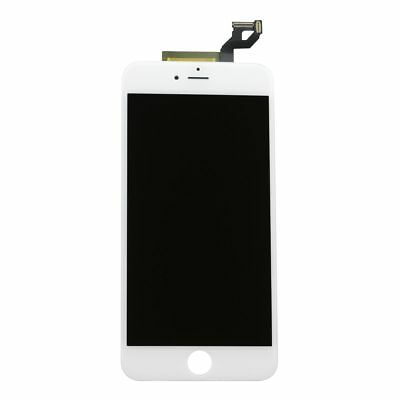 USA White Touch Screen Digitizer + LCD Screen Display + Frame for iPhone 6s Plus