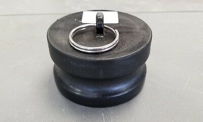 """Cam Action Coupler, 4""""dp Dust Plug, P#62796 Norwesco Camlock Fitting"""