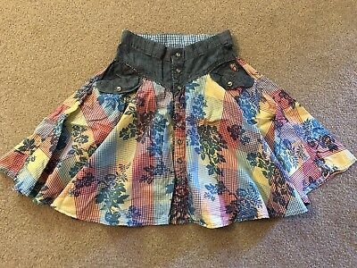 Oilily Floral Skirt 140