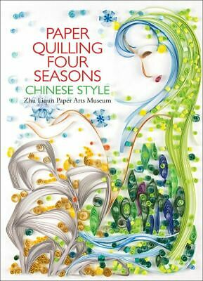 Paper Quilling Four Seasons Chinese Style // Englisch