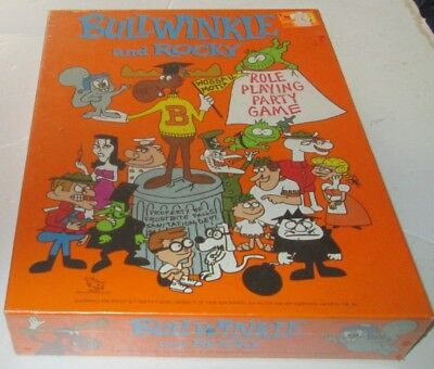 Vintage BULLWINKLE and ROCKY Role Playing GAME 1988 TSR Mint in SEALED Box