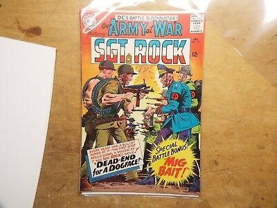 Our Army at War COMICS BOOK #161 VF- NM