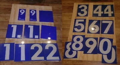 21 Vintage MOBIL GAS STATION 9x14 Lucite GAS PRICE NUMBERS GAS Oil Company