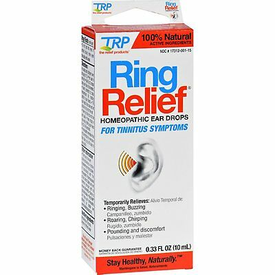 Ring Relief Ear Drops Size 10 mL For Tinnitus Symptoms