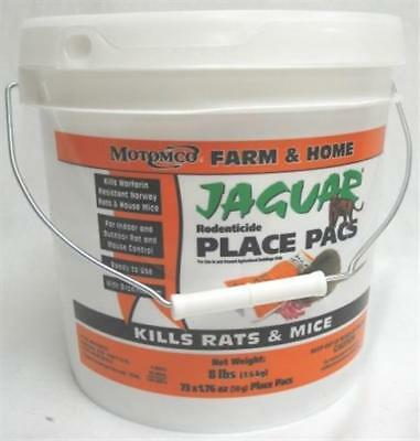 Motomco Ltd Jaguar Rodenticide Pail 73 50 Gm Pacs - 31473