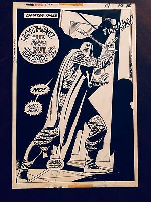 AVENGERS #146, Page #19 , FULL SPLASH PAGE Comic Art, WOW, Don Heck, NO RESERVE
