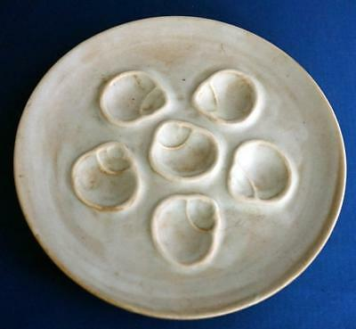 Vintage Niderviller Oyster Plate French Pottery