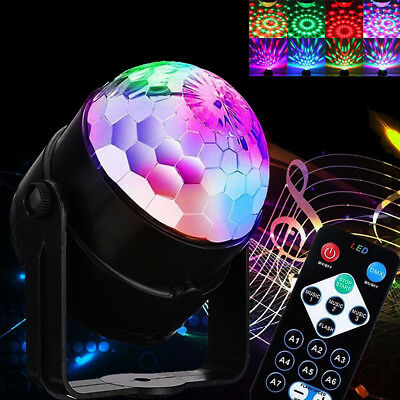 Party Disco Lights Strobe Led Dj Ball Sound Activated Dance Decoration Bulb Lamp