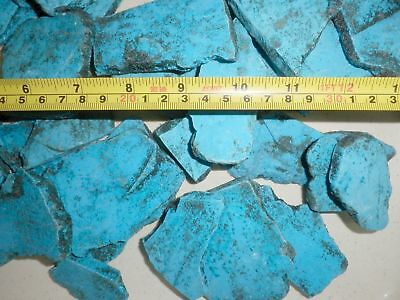 Turquoise substitute Dyed Howlite Rough Stone Slabs 200 gram Lot