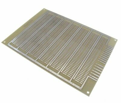 12x16cm Single Side Prototype Board Perforated 2.54mm Breadboard Power line