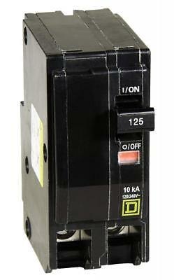 Square D by Schneider Electric QO2125CP QO 125-Amp Two-Pole Circuit Breaker