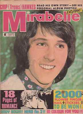 Mirabelle pop/romance comic/magazine 27/01/1968. Andy Bown/Chip Hawkes. VGC