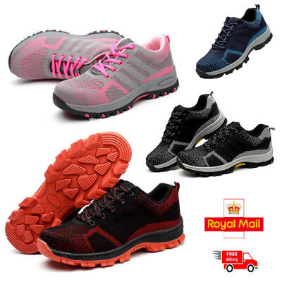 Ultra Lightweight Steel Toe Cap Work Safety Shoes Trainers Boots Womens Ladies