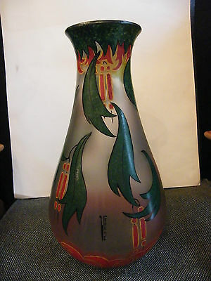 Vase glass Painted Verame 36 cm