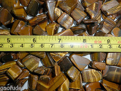 Tumbled Stone Tiger Eye Stone 1 to 8 gram Small size pieces 220 gram Lot