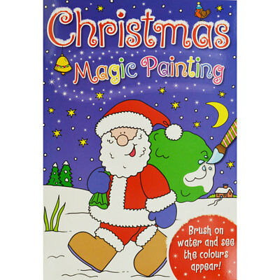 Christmas Magic Painting - Assorted by i-Read (Paperback), Children's Books, New