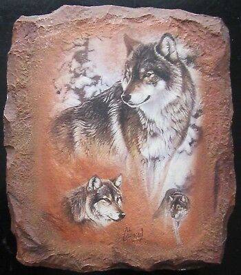 Guardians of the Earth RUGGED BEAUTY Wolf Plate Al Agnew #4 Fourth Issue