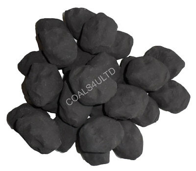 COALS 4 YOU 10 Gas Fire Replacement White Pebbles For Coal Fire