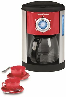 Casdon MORPHY RICHARDS COFFEE MACHINE Food Cooking Pretend Play Toy - BN
