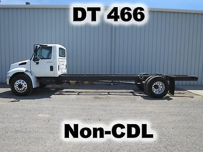4300 Dt 466 Automatic Cab Chassis Straight Frame Haul Truck Non Cdl Low Miles