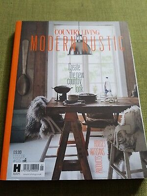 Country Living Modern Rustic Magazine Issue Number #5 ~  Excellent Condition
