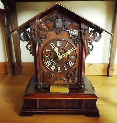 Antique Black Forest Shelf Cuckoo Clock for repair