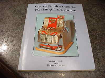 """David Saul Robt. Geddes """"owner's Complete Guide To The Mills Q.t. Slot Machine"""""""