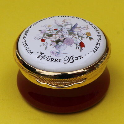 Alastor English Enamels Pill Trinket Box Put All Your Worries In This Little Box