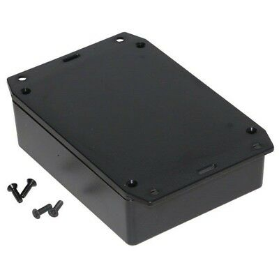 Hammond 1591XXGFLBK FRABS Enclosure Flanged Lid 121 x 94 x 33mm Black