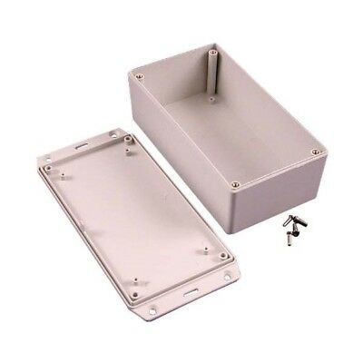 Hammond 1591XXDFLGY FRABS Enclosure Flanged Lid 152 x 82 x 50mm Grey