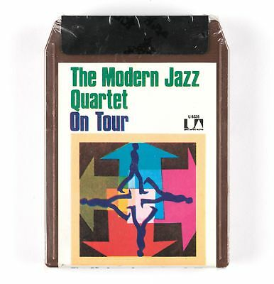 THE MODERN JAZZ QUARTET - On Tour - 8-pistes / 8-track scellé / sealed