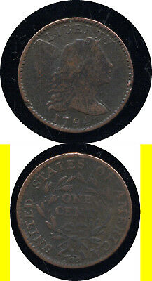 1794 Flowing Hair Large Cent- Scarce- No Reserve