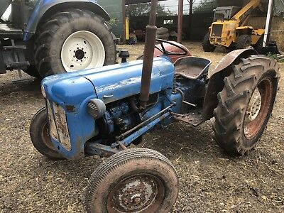 Fordson Dexta Tractor In Good Working Order