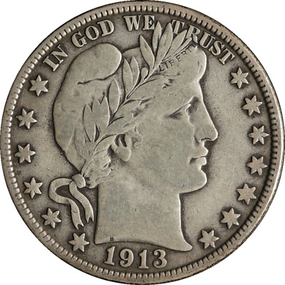 1913-D Barber Half Dollar Great Deals From The Executive Coin Company