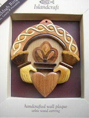 Irish, Scottish and Welsh Celtic Themed wooden Wall Plaques, assorted selection