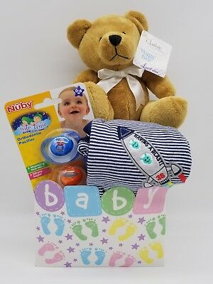 Baby Boy Gift Basket (Rocket Man)