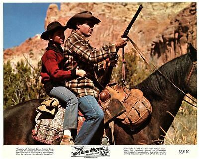And Now Miguel Original Lobby Card Pat Cardi Guy Stockwell Michael Ansara 1966