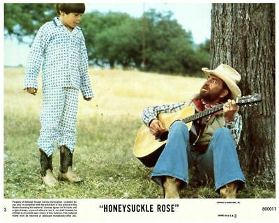 Honeysuckle Rose original US 8x10 Lobby Card Willie Nelson Joey Floyd