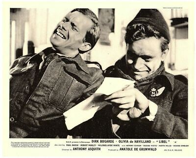 Libel Original British Lobby Card