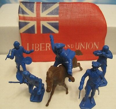 MARX WARRIORS OF THE WORLD AMERICAN HEROES REVOLUTIONARY WAR 60mm TOY SOLDIER