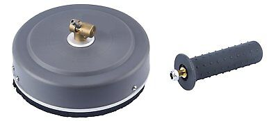 """2Wayz Rotating Surface Cleaner - Pressure Washer - 12"""" - Handle - Deck, Driveway"""