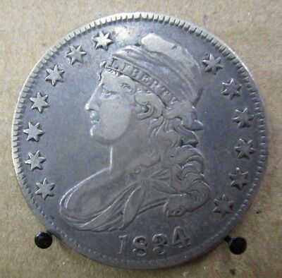 1834 Capped Bust Half Dollar (Large Date) - US Coin