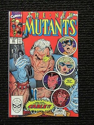 New Mutants #87  1st appearance of Cable NEVER READ!!  VERY HIGH GRADE!!