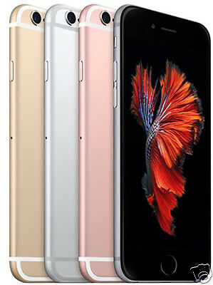 Apple iPhone 6S Unlocked Smartphone Gold Rose Gold Silver Space Gray 16GB