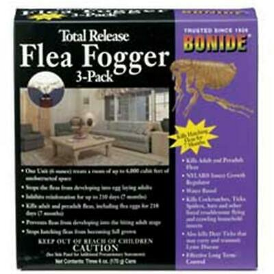 Bonide Products Total Release Flea Fogger 6 Ounces - 685